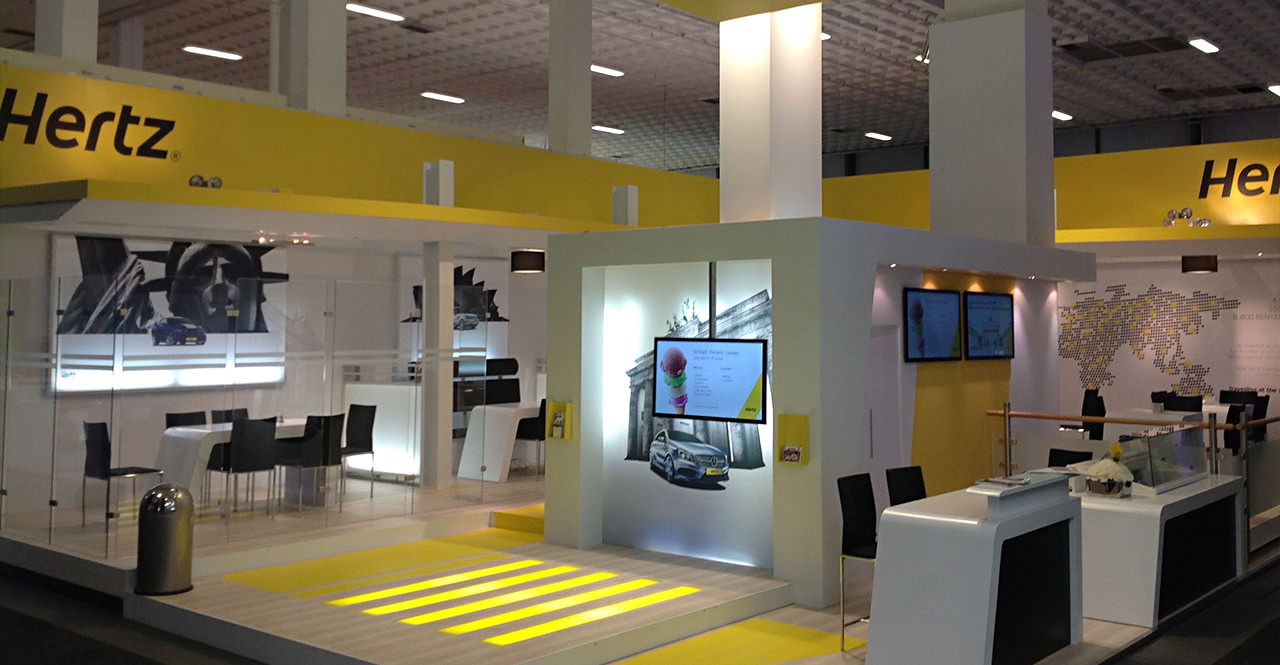 Smart trade fair stand solutions – all over Europe
